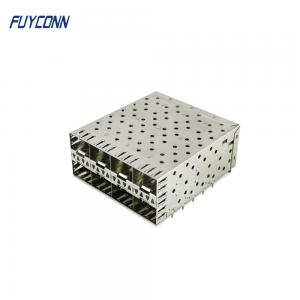 Quality 2*4 8port 160 Position SFP Female Press Fit Connector for sale