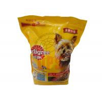 Quality Large Pet Food Packaging Plastic Zipper Bags For StorageAluminium Laminated Material for sale