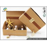 Buy cheap Small Size Corrugated Packaging Box Recycled Healthy Paper Materials from wholesalers