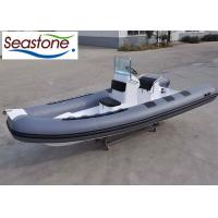 China 90HP Wide Hard Bottom Inflatable Boat / Comfort Seat Inflatable Rigid Bottom Boats on sale