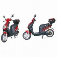 China 200 to 500W Electric Moped Scooter, with Brushless Hub Motor on sale