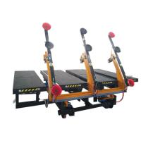Buy cheap Mobile Automatic Glass Loading Machine Breakout Table from wholesalers