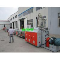 Quality PPR / PERT / HDPE Pipe Extrusion Line For Water Supply Pipe And Electrical Pipes for sale
