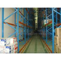 Quality Customized Very Narrow Aisle Racking , Operation Space Warehouse Racking Systems for sale