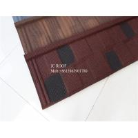Quality Fire proof Stone Chips Coated Step Metal Roof Tile Aluminium Zinc Roofing Sheets for sale