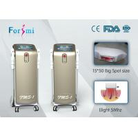 China Big screen 950nm painless champagne shr laser hair removal beauty machine shr promotion on sale