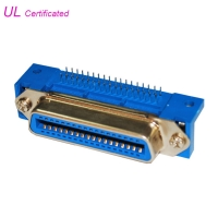 Quality DDK Centronics 36 Pin Connector PCB Right Angle Female Connector For Printer for sale