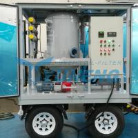 Quality CE Certified Vacuum Transformer Oil Filtration Machine with Pheumatic Tyres for sale