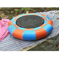 Quality EN14960 Inflatable Water Toy , Giant 5m diameter Inflatable Trampoline Games for sale