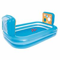 China Portable Inflatable Above Ground Pools Outdoor Water Toys 11ga Vinyl Material on sale