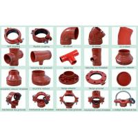 Quality Ductile Iron Groove Pipe Fitting & joint coupling fittings for sale