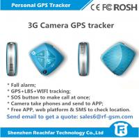 newly released 3G gps tracker with fall alarm camera sos