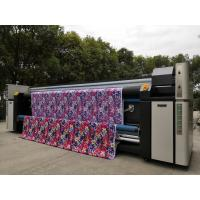 Quality Large Size High Resolution Inkjet Textile Printing Machine With Automatic Feeding System for sale
