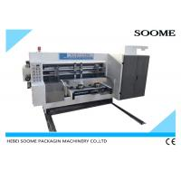 China Lead Edge Feeding Automatic Corrugation Machine With Printing Rotary Slotter on sale