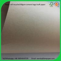 Quality BMPAPER Wholesale Low Price Good Sale Recycled Test Liner Paper for cement bags for sale