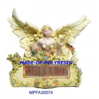 Quality polystone sitting fairy, resin fairy for sale