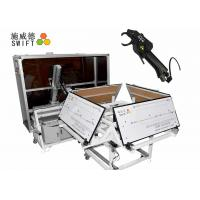 Quality Full Automatic Cable Tie System , Wire Tying Machine For Bundling Synchromesh for sale