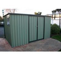 China metal 8ft*6ft green garden storage shed on sale