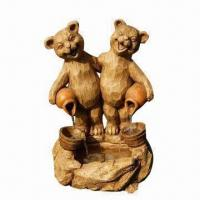 Buy Garden Animal Fountain, Polyresin Water Feature, Pump DIY at wholesale prices