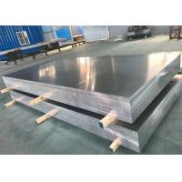 Buy cheap Aerospace Bare Flat Aluminum Sheet High Strength 7075 In Silver Color from wholesalers