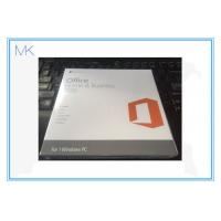 Quality MS Microsoft Windows Software Office Home and Business 2016 Keycard for Windows PC for sale