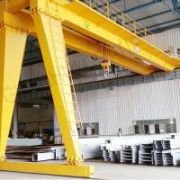 Quality BMH Type 5T 10T 20T Semi Electric Gantry Crane , Indoor Mobile Gantry Crane for sale