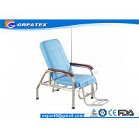Quality Economical Adjustable Manual Transfusion Chair / Hospital Furniture Infusion Chair for sale