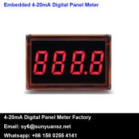 Quality Embedded 2 Wire Self-powered 4-20mA Digital Pannel Meters SY LED1 for sale