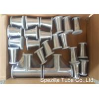 Quality TP316L Sanitary Valves And Fittings 1/2'' - 4'' Stainless Steel Reducing Tee Cross Ends for sale