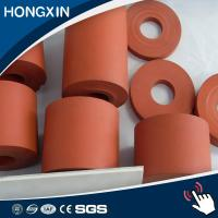 China Hot Heat Stamping Laminating Transfer 38MM Rubber Silicone Roller on sale
