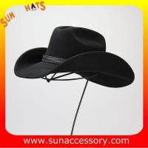 06cb757cee0cf 1284 Sun Accessory customized western hats 100% wool felt cowboy hats for  men