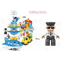 Quality 172Pcs City Vehicles Pretend Play DIY Building Blocks For Unisex Eco Friendly for sale
