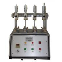 Quality Stable Rubber Testing Machine , Rubber / Leather Fabric Color Shedding Level Tester for sale