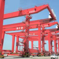 Quality Lifting Containers Drawing On Seaport 30.5 - 40.5T Quay Gantry Crane for sale
