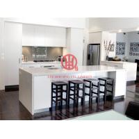 China Customized Modern Lacquer Kitchen Cabinet with Excellent Design and Quality MOQ is 1 set & Shipping by Sea on sale
