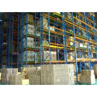 Quality Very Limited Aisle Forklift Industrial Shelving Units for sale