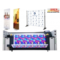 Quality High Resolution Large Format Sublimation Printer 110V / 220V Voltage For Flags ,Banners and Table Cover for sale