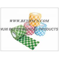 Quality Custom Printed Colored Non Woven Bandage Cohesive Vet Animal Wraps for sale