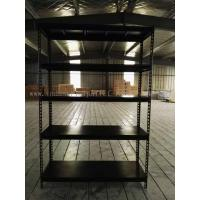 Quality Slotted - Angle Shelving Light Duty Capacity 80KG - 150KG Per Level For Storage Solution for sale