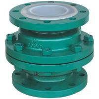 Buy cheap GGG 40.3 ductile iron Ball Check Valve with two Flanged pieces from wholesalers