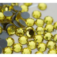 China china supplier rhienstones hot fix,stronger glue hot fix rhinestones for high heel,ss20 ho on sale