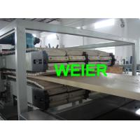 Quality Wood Plastic Composite WPC Board Production Line , CE Certificate SJSZ-92 / 188 for sale