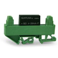 Quality Small Size DIN Rail Mounted 4-20mA Signal Isolated Distributor Module DIN3 ISO 4-20mA-F for sale