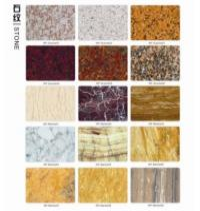 MMM M2 Marble PPGI Decorative Metal Sheets