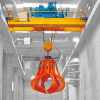 Quality Garbage Grab Double Girder Overhead Crane Safety 36 Ton 100 Ton Load Capacity for sale