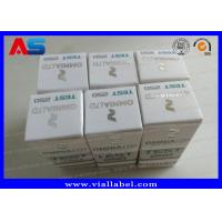 Quality Custom Steroids Injections Cardboard Vial Box For Pharma Packaging Omnia for sale