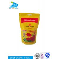 Quality Waterproof Stand Up Zipper Pouch Recyclable Leakproof Solid Fish Food Grade for sale