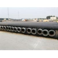 Quality HDPE dredging pipe and dredging plastic pipe with MDPE float buoy or plastic pontoon for sale