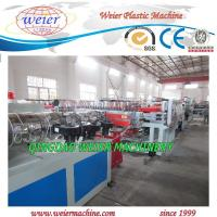 Quality 350kg Particle Board Production Line For PVC WPC Foam Board for sale