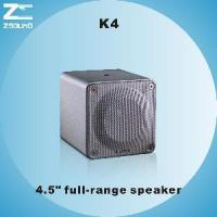 Quality K4 4.5′ Portable Full Range Speaker for sale